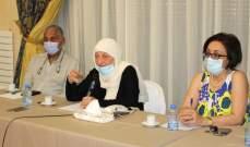 الحريري اجتمعت مع أصحاب مطاعم ومقاهي بصيدا: للمواءمة بين عودة الحياة والوقاية من كورونا