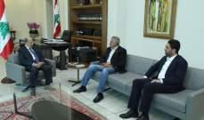 الرئيس عون التقى أرسلان والغريب بحضور بو صعب وجريصاتي وابراهيم