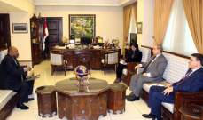 القائم بأعمال سفارة السودان في دمشق أكد رغبته في تطوير علاقاته مع سوريا