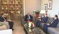 ريفي: سلاح الجيش هو السلاح الشرعي الوحيد على الأراضي اللبنانية