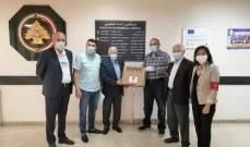 منظمة مالطا تبرعت بأجهزة تنفّس اصطناعي لعشرة مستشفيات حكومية