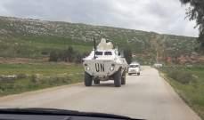 النشرة: قوة اسرائيلية تفقدت الطريق العسكري المحاذي للجدار العازل