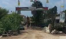 النشرة: اشتباك مسلح بين احدى العائلات والقوة الامنية الفلسطينية بمخيم الرشيدية
