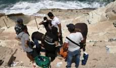 الدفاع المدني: إنقاذ شاب حاول الإنتحار عن صخرة الروشة ونقله إلى المستشفى