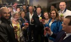 مبادرة كنعان لدعم مزارعي التفاح في بسكنتا حققت مردودا وصل الى 100 مليون ليرة