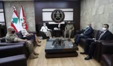 قائد الجيش بحث مع سفيرة السويد في علاقات التعاون بين جيشي البلدين