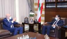 ميقاتي زار الحريري والسنيورة وسلام ودياب واتصل بعائلة الحص