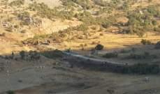 """""""النشرة"""": الجيش الإسرائيلي أطفأ الأنوار داخل موقع رويسات العلم خراج كفرشوبا"""
