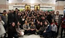 يازجي التقى كهنة ومجلس وفعاليات ابرشية حلب والاسكندرون