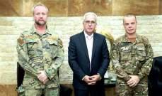 ملحق الدفاع لدى سفارة هولندا أطلع خطار على هبة ستُقدم للدفاع المدني