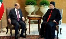 الراعي: في اليومين المقبلين سيعرض الحريري على الرئيس عون تشكيلة حكومية