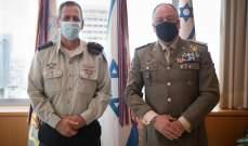 أدرعي:كوخافي وديل كول ناقشا الوضع الأمني وانتهاكات حزب الله لقرار 1701