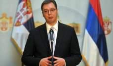 الرئيس الصربي يجري زيارة رسمية الى تركيا تستمر يومين