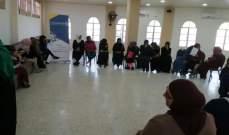 جلسة توعية حول تحقيق العدالة والمساواة في المواطنة في ابل السقي