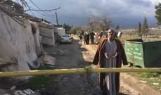 النشرة: فرض طوق على مخيم العين ببعلبك اثر حضور 3 عائلات من النازحين السوريين من الشمال
