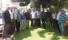 لقاء أخوي لبناني فلسطيني في بلدية المية ومية