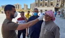 إجراء 400 فحص Pcr في مجمع الاوزاعي للنازحين السوريين في صيدا