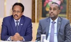 رئيس الصومال ورئيس الوزراء اتفقا على تسريع العملية الانتخابية