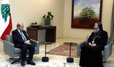 الرئيس عون أكد أهمية الوجود المسيحي بالمشرق: العالم بأسره مدعو إلى حماية الوجود