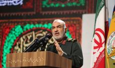 قائد الحرس الثوري الإيراني: بحرية الحرس باتت تسيطر على جغرافيا