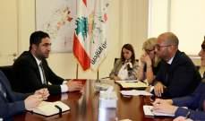 الغريب التقى وزيرا دنماركيا: لعدم ربط عودة النازحين بالحل السياسي في سوريا