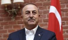 وزير الخارجية التركي: الدبلوماسية المبدئية والإنسانية السبيل الوحيد لمعالجة التحديات العالمية