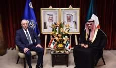 فهمي التقى الصالح في تونس: لبنان يحتاج لدعم الكويت بهذه المرحلة المفصلية