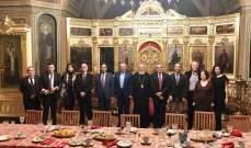 ارسلان من  موسكو: روسيا لعبت دورها التاريخي في لجم الحروب الاهلية في لبنان