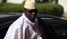 هروب 4 وزراء في حكومة غامبيا خارج البلاد عقب استقالتهم