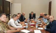 محافظ البقاع ترأس اجتماعا لعرض الترتيبات المتعلقة بيوم العرق اللبناني بزحلة