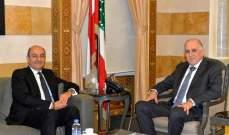 فهمي بحث مع سفير تركيا في التنسيق الامني بين البلدين والتقى وكيل نقابة مالكي الابنية القديمة