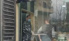 إقفال المقاهي والمطاعم في فنيدق العكارية بسبب كورونا