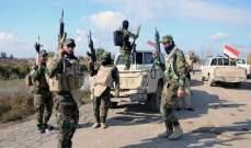 الحشد الشعبي العراقي: القضاء على تجمع لإرهابيي داعش في ديالى