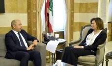 آلان عون التقى الحسن: لا يجوز ترك بلدات من دون بلديات تدير شؤونها