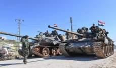 النشرة: الجيش السوري نفذ كمينا ضد مجموعة مسلحة في منطقة التنف