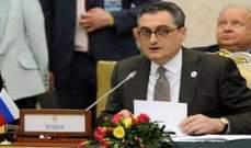 نائب وزير الخارجية الروسي: نأسف للإجراءات التصعيدية التي تتخذها واشنطن ضد إيران