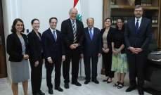 الرئيس عون: على الامم المتحدة تقديم مساعداتها للنازحين داخل سوريا لتشجيعهم على العودة
