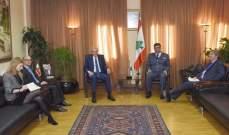 اللواء عثمان استقبل مدير مركز الازمات في وزارة الخارجية الفرنسية