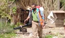 فرق طوارىء بلدية صيدا واصلت حملات التعقيم بالاحياء السكنية والشوارع