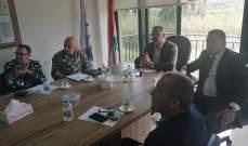 إجتماع لجة إدارة الكوارث باتحاد بلديات ساحل الزهراني وتعميم سبل وقاية