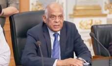 رئيس البرلمان المصري: لا يوجد معتقلون سياسيون في بلادنا