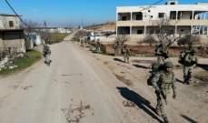 المرصد السوري: القوات التركية تنشئ نقطة عسكرية عند بوابة جبل الأربعين بريف إدلب