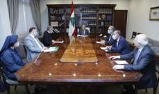الرئيس عون: معالجة الازمة التربوية ستكون جزءا من الحلول التي تدرسها الحكومة من خلال خطتها