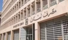 """مصرف لبنان: ما يتم توزيعه عبر """"واتسآب"""" عن تعميم يحمل الرقم 107 لا أساس له من الصحة"""