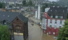 السلطات الألمانية تعلن فقدان نحو 1300 شخصاً جراء الفيضانات في أرفايلر