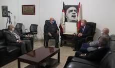 العميد حمدان استقبل السفير الروسي ألكسندر روداكوف