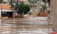 حيدر انهى تقرير وحدة ادارة الكوارث بشأن ظاهرة السيول في البقاع الشمالي
