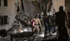 الطوارئ الروسية: معظم ضحايا انفجار مصنع للالعاب النارية هم من الاجانب