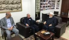 الشيخ ماهر حمود يتصل باحمد الحريري مهنئا بسلامته