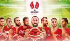تقدم منتخب لبنان على منتخب كوريا الجنوبية 54-41 في بطولة كأس آسيا